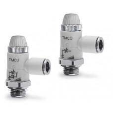 Пневмодроссели. Серия TMCU - TMVU - TMCO